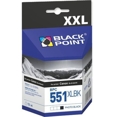 Black Point Canon BPC 551XLBK (PGI-551PBK) czarny photo - 9,5 ml