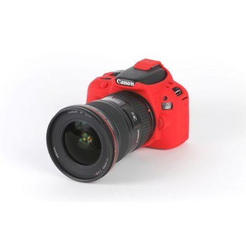 EasyCover osłona gumowa dla Canon 100D/SL1 czerwona - produkt z kategorii- Futerały i torby fotograficzne