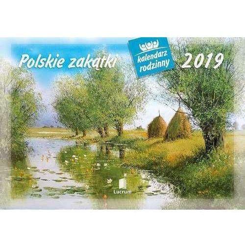 Kalendarz 2019 rodzinny polskie zakątki wl7 marki Lucrum