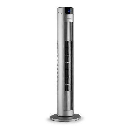 Klarstein skyscraper 2g wentylator kolumnowy 40w zapach panel dotykowy pilot zdalnej obsługi srebrny