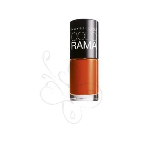 Colorama nail polish lakier do paznokci 155 tangerine 7ml wyprodukowany przez Maybelline