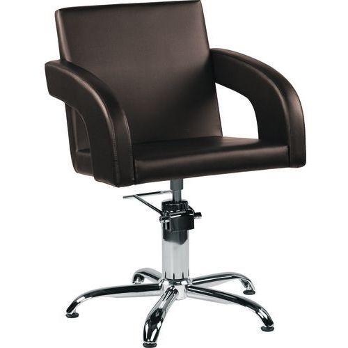 Fotel fryzjerski Tina Brązowy 48h Ayala