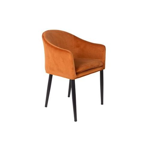 fotel catelyn pomarańczowy 1200160 marki Orange line