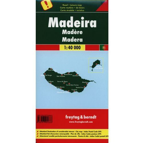 Madera. Mapa 1:40 000, praca zbiorowa