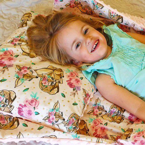 Śpiworek przedszkolaka jelonki + worek marki Bubaland