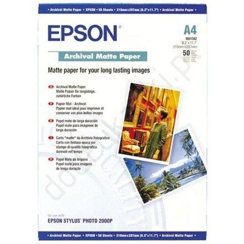 Epson  c13s041342 archival matte paper a4 50 ark.