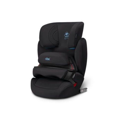 cbx Fotelik samochodowy Aura Fix Cozy Black - kolor czarny (4058511272184)