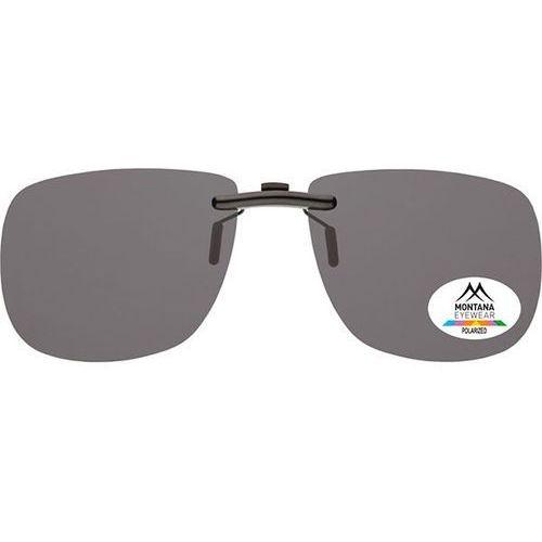 Okulary Słoneczne Montana Collection By SBG C2 Clip On Polarized no colorcode, kolor żółty