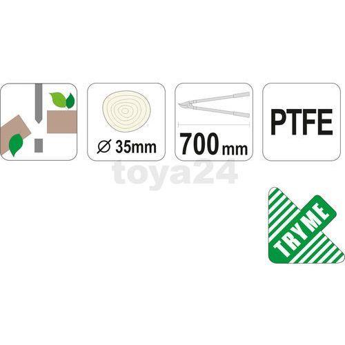Sekator do konarów, kowadełkowy 700 mm / YT-8834 / YATO - ZYSKAJ RABAT 30 ZŁ (5906083988349)