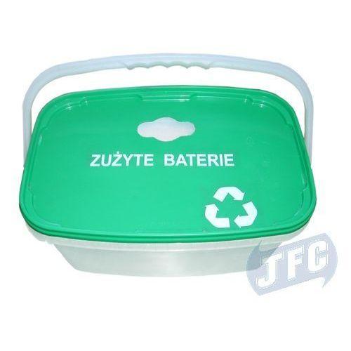 Pojemniki na zużyte baterie marki Eco-market.pl