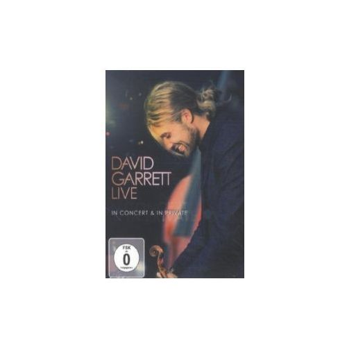 David garrett live - in concert & in private, 1 dvd marki Sony music entertainment