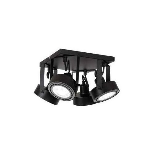 viva 1224 plafon lampa sufitowa kwadrat 4xar11115w gu10 czarny marki Luminex