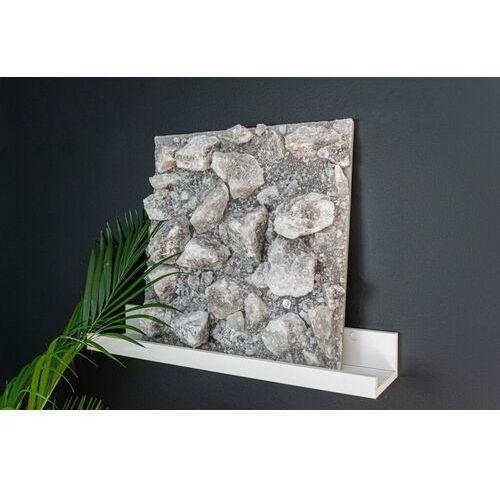 Panel solny płyta solna do sauny saltino szara 40x40