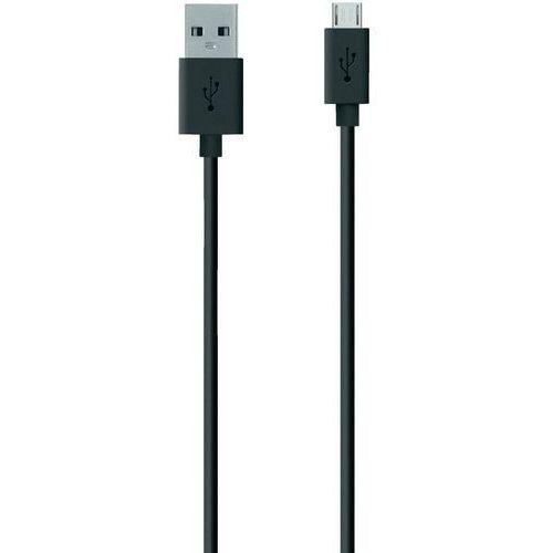 Kabel USB 2.0 Belkin F2CU012bt2M-BLK F2CU012bt2M-BLK, [1x złącze męskie USB 2.0 A - 1x złącze męskie micro-USB 2.0 B], 2 m, czarny