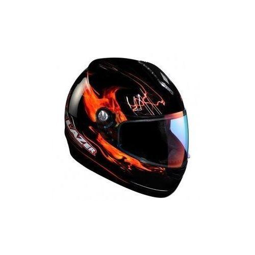 Lazer Kask motocyklowy vertigo magfire czarny/czerwony
