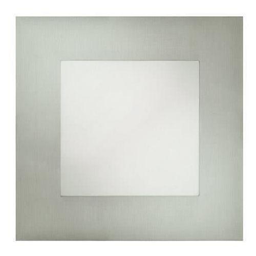 Oczko LAMPA sufitowa HL685L 02127 Ideus podtynkowa OPRAWA metalowa LED 12W kwadratowy wpust satyna