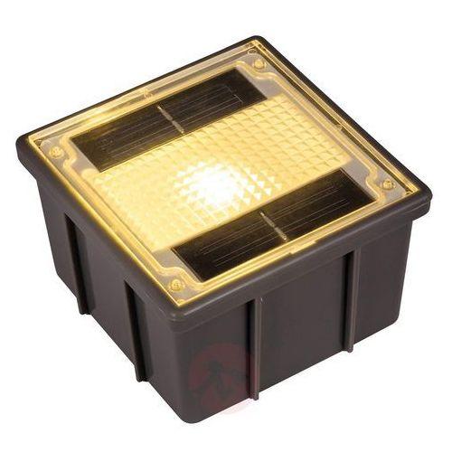 Oprawa wpuszczana solarna, kostka brukowa z led marki Heitronic