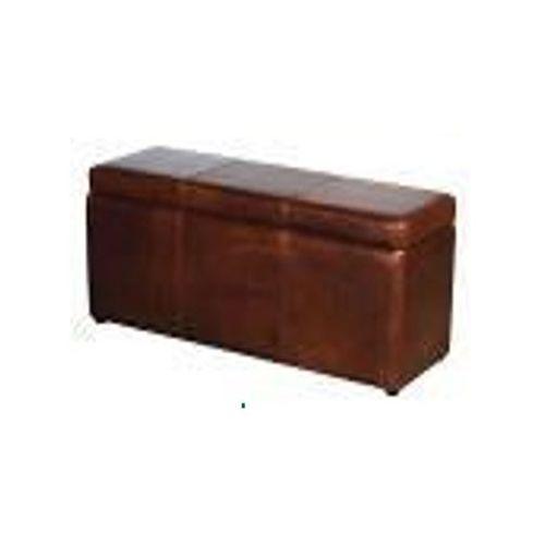 Pufa - ława Estelia Brighton Bench Storage One skóra, tkanina