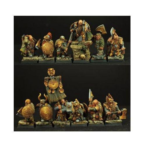 Scibor 28FM0146 - Dwarves Ducal Guard 12 miniatures 28mm