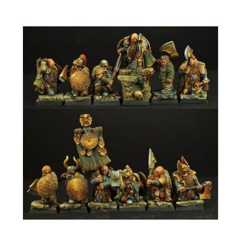 Scibor miniatures Scibor 28fm0146 - dwarves ducal guard 12 miniatures 28mm