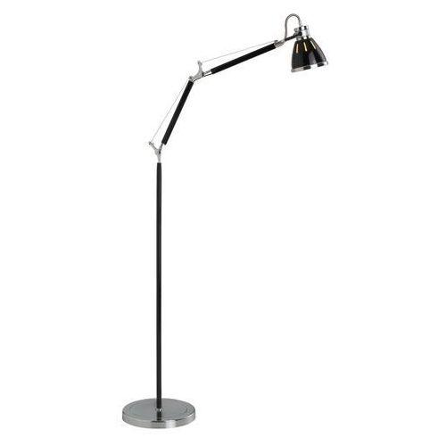 Brilliant Lampy stojące octavia 92736/76, 1x40 w, e27, czarny, 230 v (4004353116827)