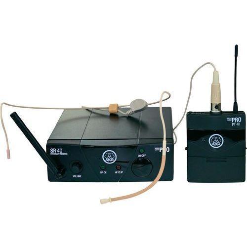 Akg Mikrofon bezprzewodowy  wms 40 mini sport, ism 2, zestaw z odbiornikiem (4050310008605)
