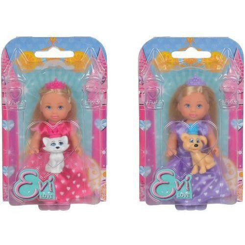 Lalka SIMBA Y283 Evi piękna księżniczka z psem z kategorii lalki