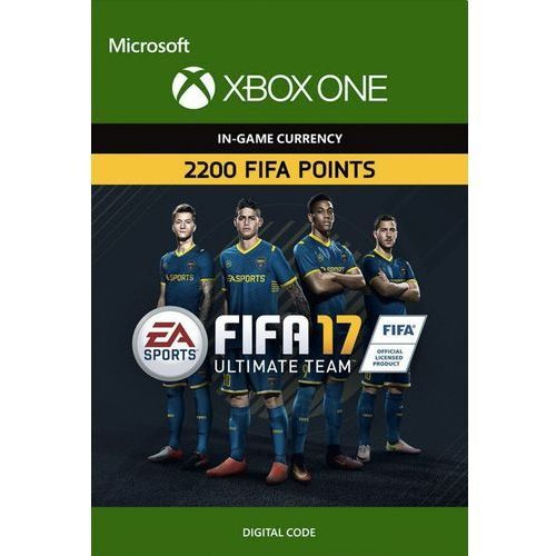 Kod aktywacyjny Gra XBOX ONE Fifa 17 - 2200 punktów