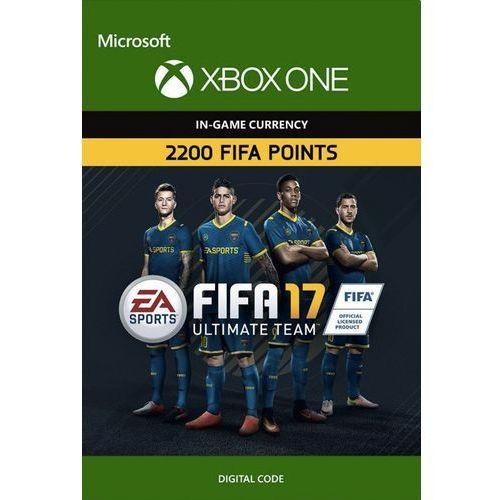 Kod aktywacyjny Gra XBOXONE Fifa 17 - 2200 punktów
