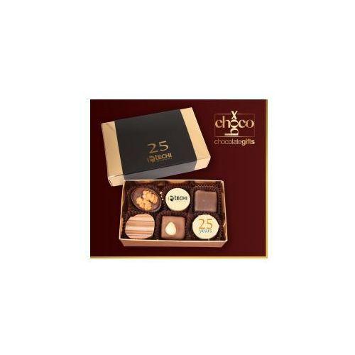 Czekoladki jubileuszowe czekoladki 2x3 marki Carmag polska