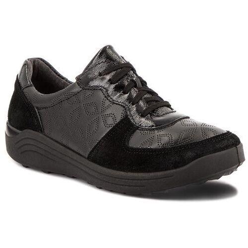 Sneakersy - madera 22 50322 164 100 black, Romika