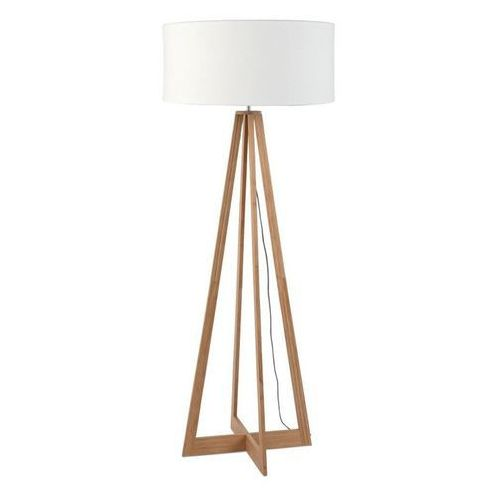 Good & mojo Everest-lampa podlogowa bambus & len naturalny wys.127cm (8716248074674)