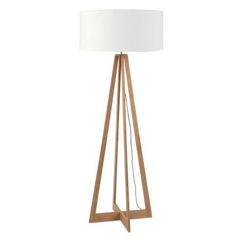 Good & mojo Everest-lampa podlogowa bambus & len naturalny wys.127cm