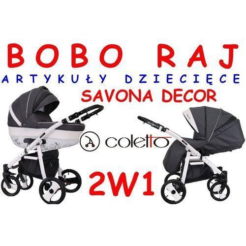Wózek głęboko - spacerowy firmy  model savona decor zapraszamy do sklepu stacjonarnego w gdańsku przy ul.szarej 39! marki Coletto