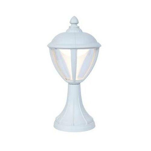 Lutec Unite biały mat led 9w wys. 34,6cm. ip44 3000k lampa ogrodowa stojąca 7260401030
