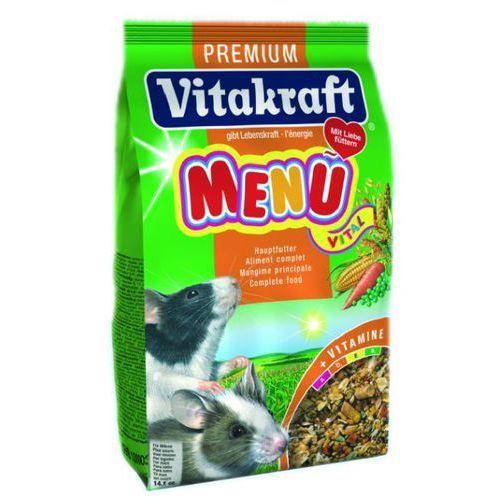 VITAKRAFT Menu Vital Premium pokarm dla myszy 400g - produkt z kategorii- Pokarmy dla gryzoni