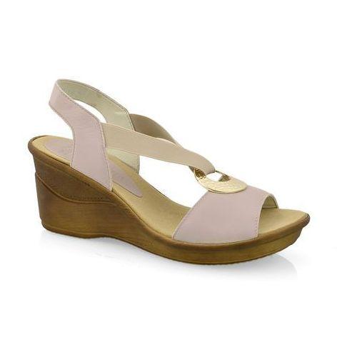 Sandały nik 07-0186-003 beż marki Nik giatoma niccoli