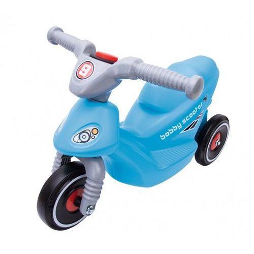 Big motor bobby scooter niebieski