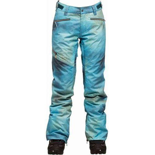 Nikita Spodnie - white pine pant textured print textured print (tex) rozmiar: s
