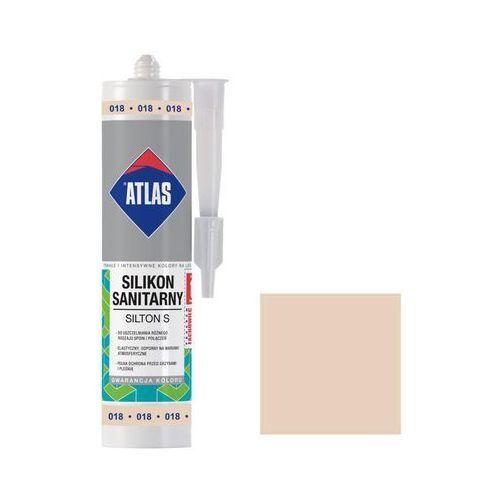 Atlas Silikon sanitarny 018 beżowy pastelowy (5905400277210)