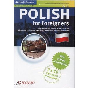 Polish For Foreigners. Audio Course (Handbook + 2cd) (132 str.)