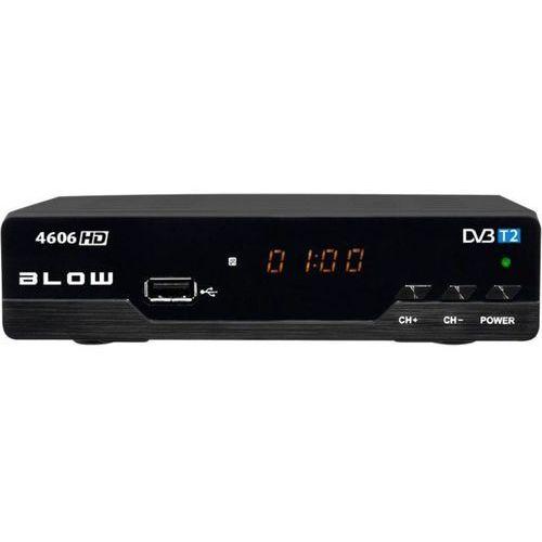 Tuner DVB-T2 BLOW 4606HD 5900804089360 - odbiór w 2000 punktach - Salony, Paczkomaty, Stacje Orlen (5900804089360)