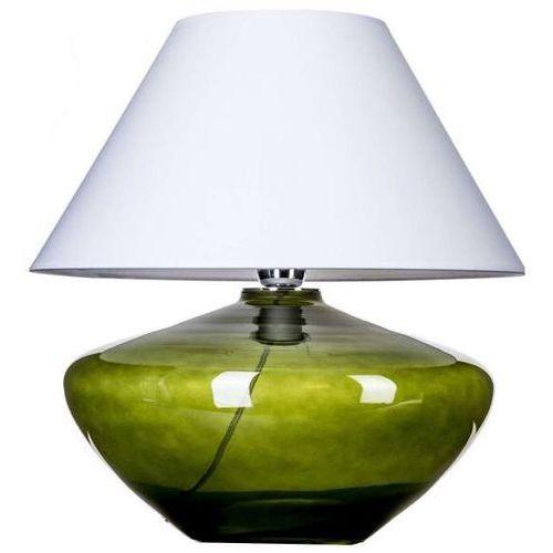 Lampa stołowa lampka madrid green 1x60w e27 biały/zielony l008811215 marki 4concepts
