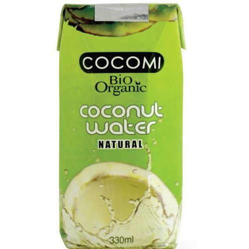 Woda Kokosowa Naturalna 100% Ze Słomką 330ml BIO EKO - COCOMI