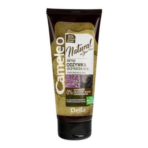 Delia Cosmetics Cameleo Natural Detox Odżywka oczyszczająca z glinką 200ml, 5901350470978