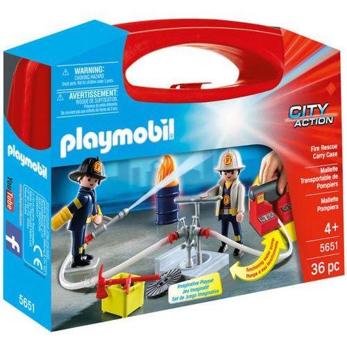 Playmobil WALIZKA Walizka - straż pożarna 5651 - BEZPŁATNY ODBIÓR: WROCŁAW!