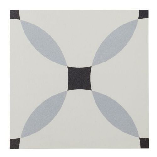 Colours Gres hydrolic design 5 20 x 20 cm callison b&w 1 m2