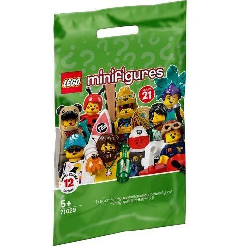 Lego minifigures: seria 21 mix (71029). wiek 5+