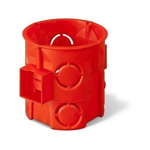 Elektro-plast nasielsk Puszka podtynkowa 60 łączona głęboka 0285-00 pomarańczowa elektro-plast