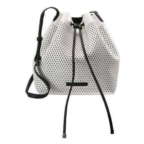 Armani Exchange SHOULDER BAG Torba na ramię bianco/nero (8059596139580)